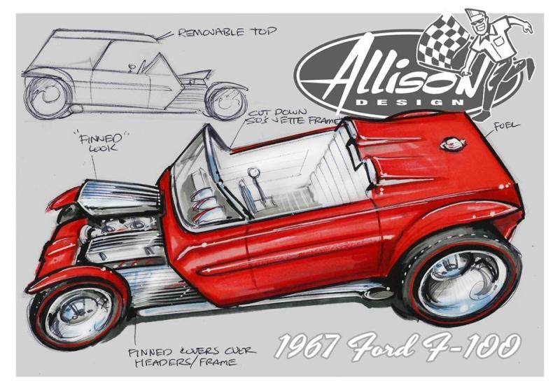 Jeff Allison - designer hot wheels and illustrations 0656
