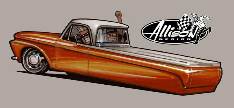 Jeff Allison - designer hot wheels and illustrations 0657