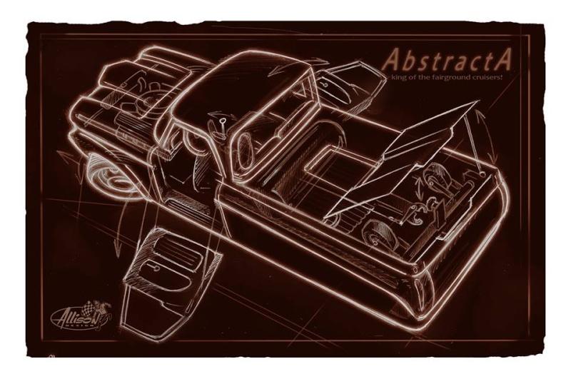 Jeff Allison - designer hot wheels and illustrations 0658