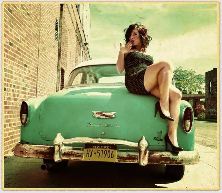 hot rod, custom and classic car babes - Page 6 10006112
