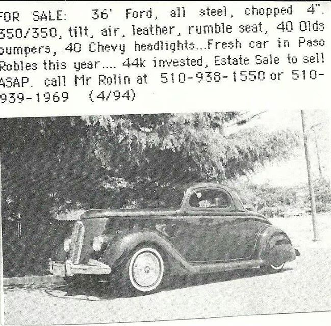 Ford 1935 - 38 custom & mild custom - Page 3 10245511