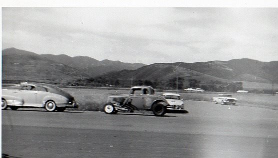 1950's & 1960's hot rod & dragster race 10247410