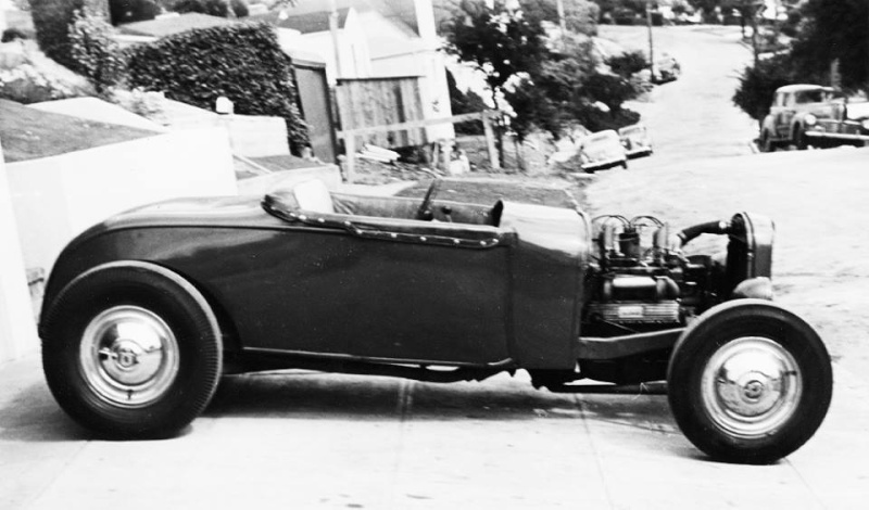 "Hot rod in street - Vintage pics - ""Photos rétros"" -  - Page 3 10250110"