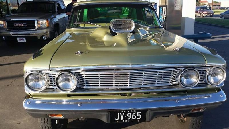 1960's Ford & Mercury gasser 10259711