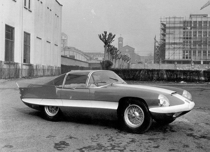 Pininfarina Superflow .  1956 -1960 10300010