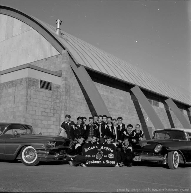 1950's & 1960's hot rod / custom car club 10354710
