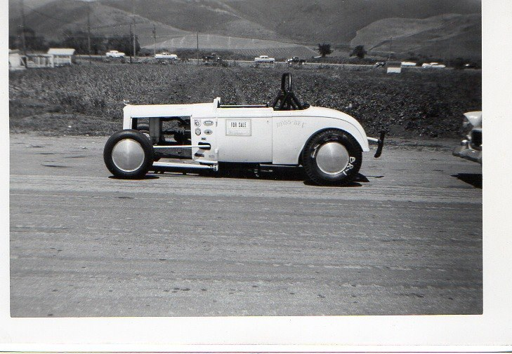 1950's & 1960's hot rod & dragster race 10377011