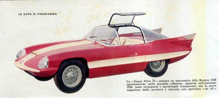 Pininfarina Superflow .  1956 -1960 10390112