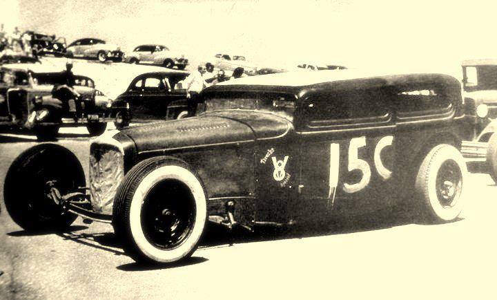 1950's & 1960's hot rod & dragster race 10406410