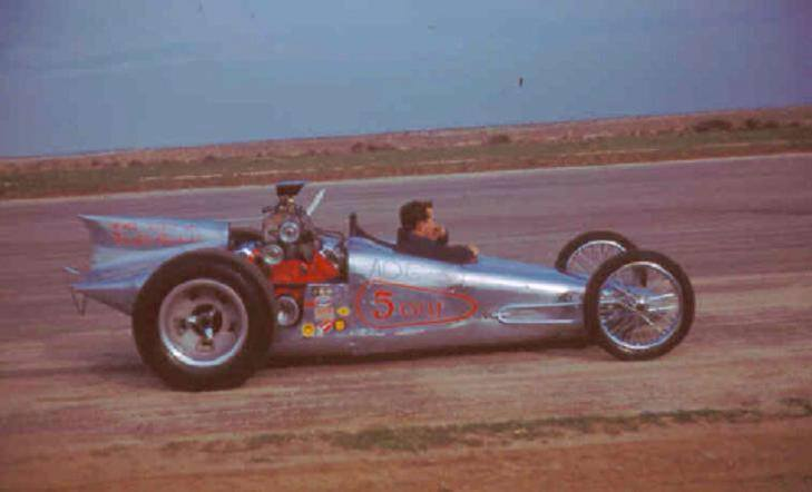 1950's & 1960's hot rod & dragster race 10409314
