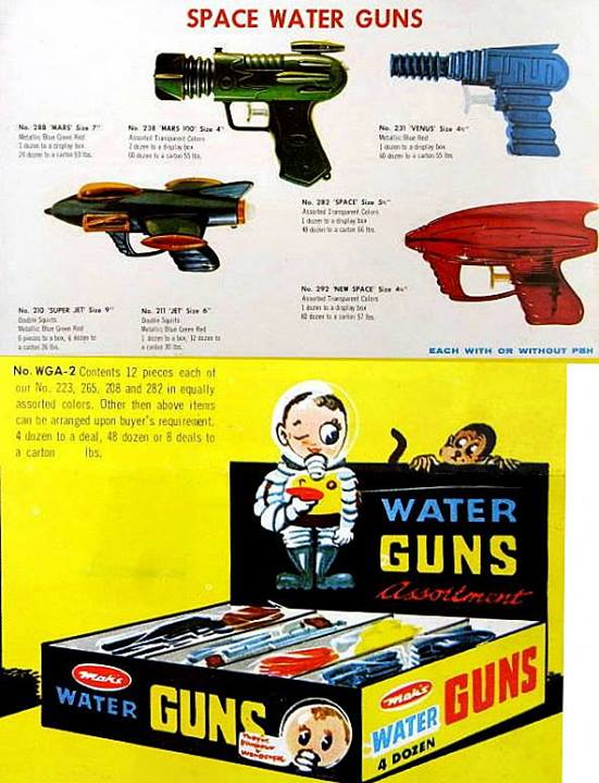 Jouets Spaciaux - Sci-Fi Toys 10409410