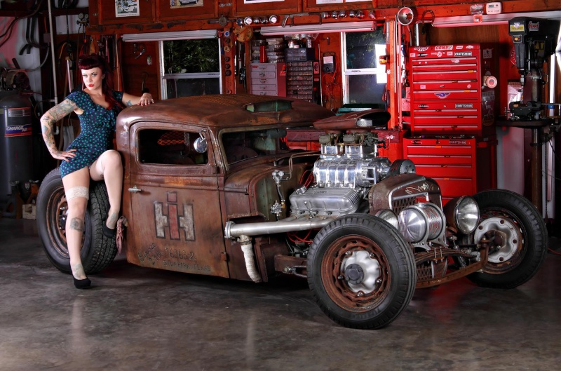 hot rod, custom and classic car babes - Page 6 10443010