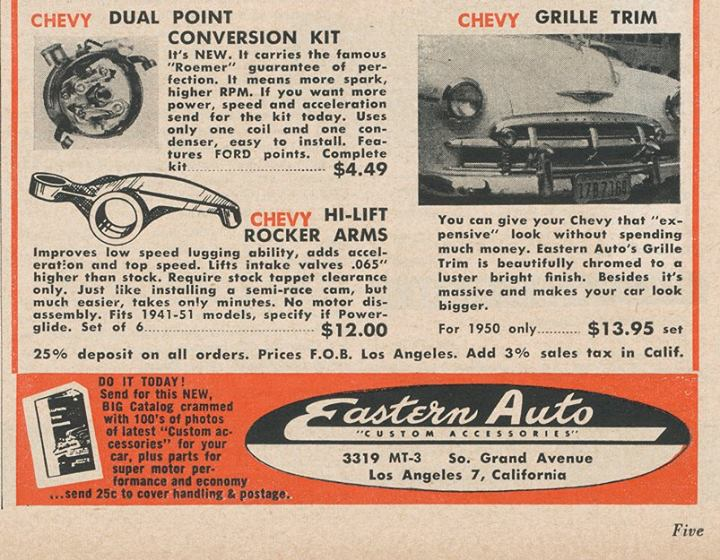 Les Incontournables accessoires pour nos anciennes - hot rod, custom and classic accessories and parts - Page 3 10447410