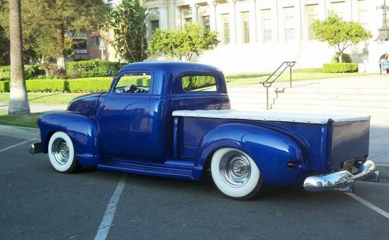 Chevy Pick up 1947 - 1954 custom & mild custom - Page 3 10458811