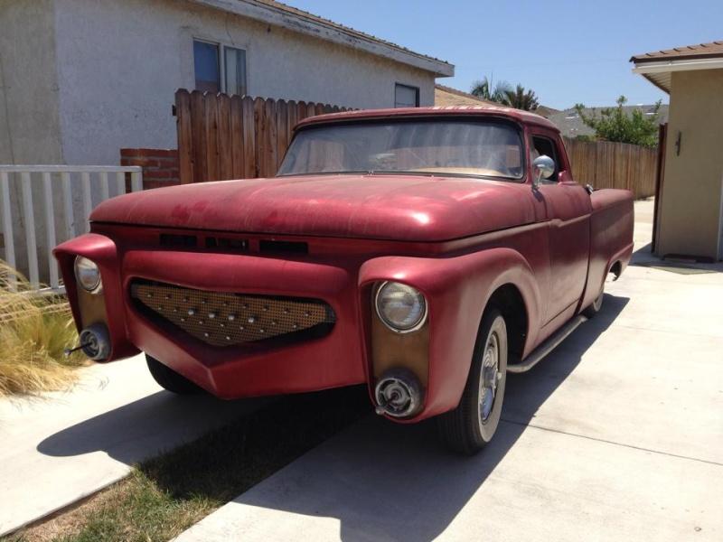 Ford Pick up 1958 - 1966 custom & mild custom 10460312