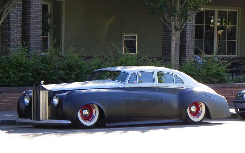 British classic car custom & mild custom - UK - GB - England 10485512