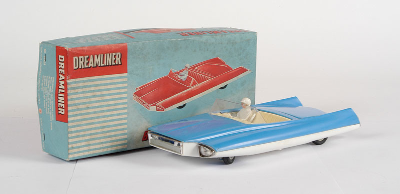 "OK Toys (Hong Kong) ""Dreamliner"" Futuristic Car 10509516"
