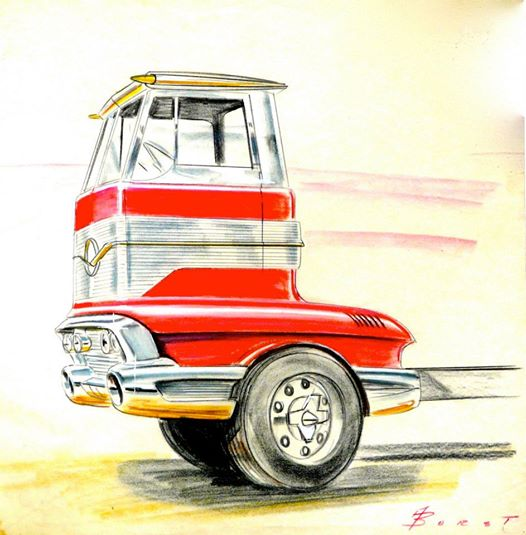 Vintage automotive design illustration. 10518910