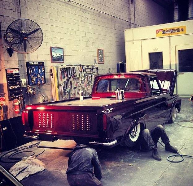 Ford Pick up 1958 - 1966 custom & mild custom 10532310