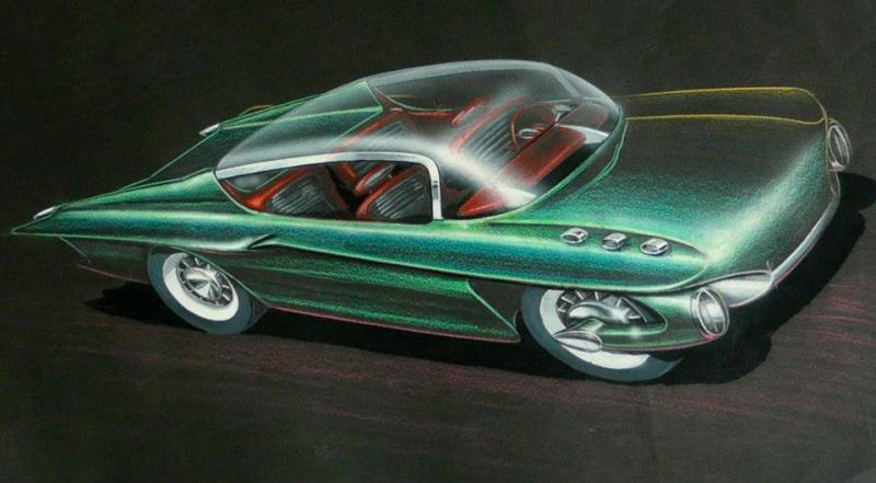 Vintage automotive design illustration. 10553411