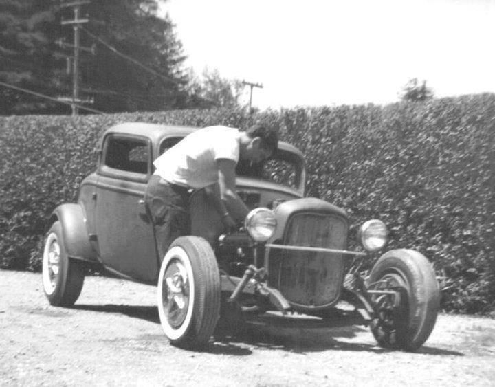 "Hot rod in street - Vintage pics - ""Photos rétros"" -  - Page 3 10557313"