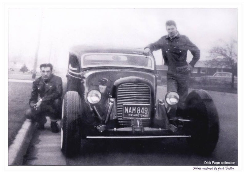 "Hot rod in street - Vintage pics - ""Photos rétros"" -  - Page 3 10570312"