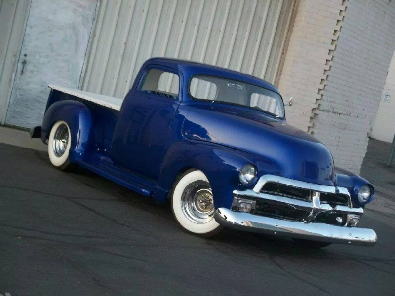 Chevy Pick up 1947 - 1954 custom & mild custom - Page 3 10574312