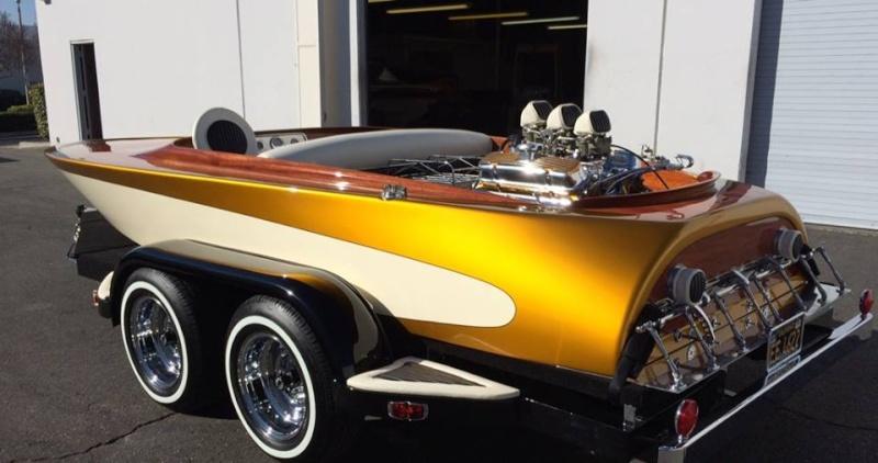 Bateaux vintages, customs & dragsters, Drag & custom boat  10590412