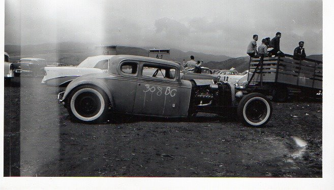 1950's & 1960's hot rod & dragster race 10593015
