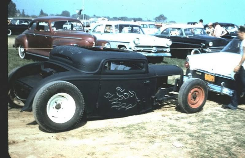 1950's & 1960's hot rod & dragster race 10606317
