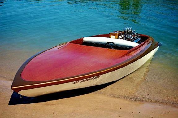 Bateaux vintages, customs & dragsters, Drag & custom boat  10612612