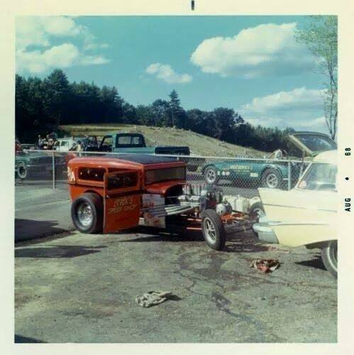 1950's & 1960's hot rod & dragster race 10626413