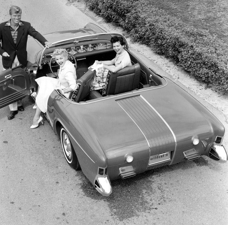 Buick Wildcat 3 -  dream car - concept car - 1955  10646910