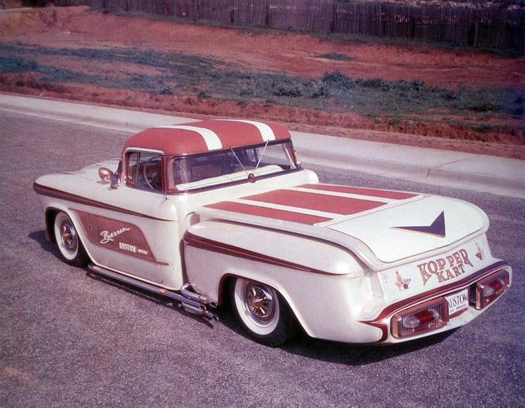 1956 Chevy pick up - Kopper Kart - George Barris 10660211