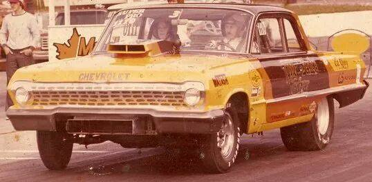 1950's & 1960's hot rod & dragster race 10665113