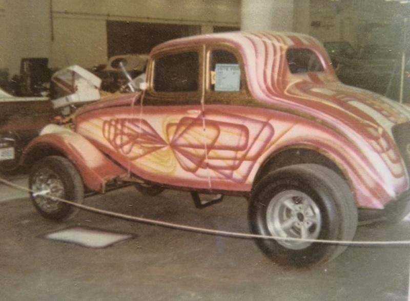 1933 - 1936 Willys gasser 10685710