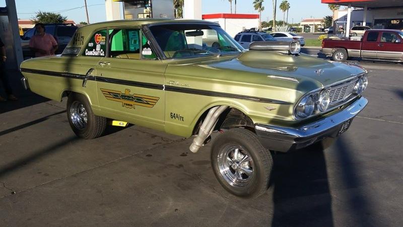1960's Ford & Mercury gasser 10702013
