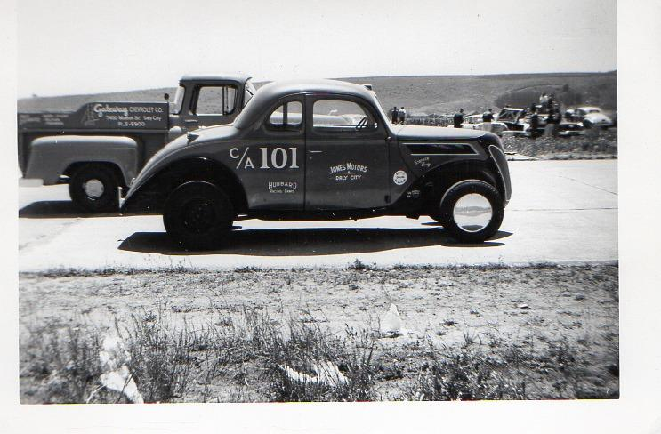 1950's & 1960's hot rod & dragster race 10710911