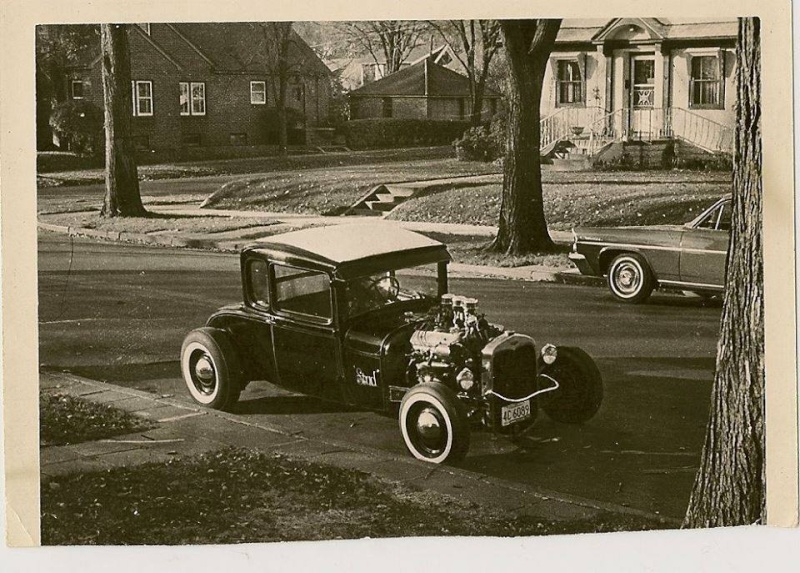 "Hot rod in street - Vintage pics - ""Photos rétros"" -  - Page 3 10850010"