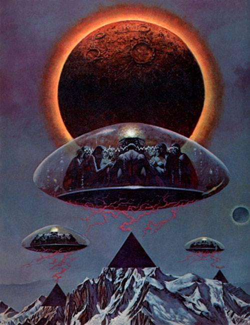 Sciences fiction, soucoupes volantes et extraterrestres - Sci Fi, Flying Saucers and Aliens 10868110