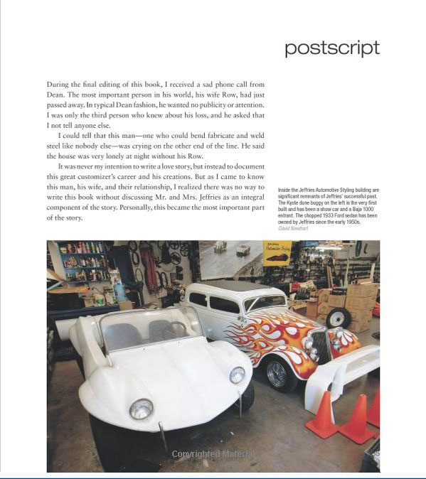 Dean Jeffries: 50 Fabulous Years in Hot Rods, Racing & Fil - Tom Cotter - motorbooks 1115