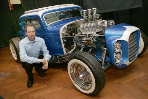 The Little Deuce Coupe - The Silver Sapphire - Clarence Catallo's 1932 Ford 114