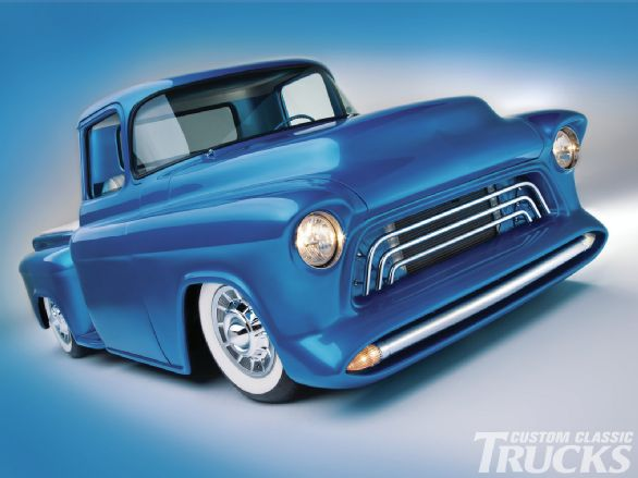 Chevy pick up  1955 - 1959 custom & mild custom - Page 2 1207cc11