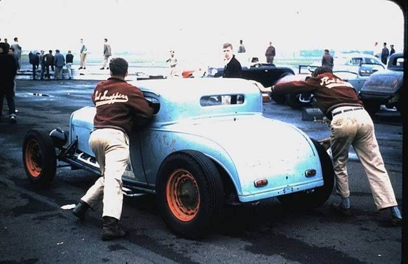 1950's & 1960's hot rod & dragster race 12341810