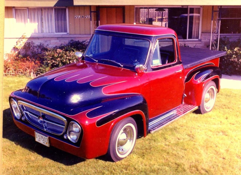 Ford Pick Up 1953 - 1956 custom & mild custom - Page 2 1311
