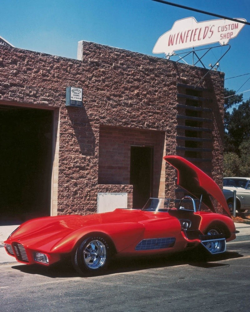 The Legenday Custom cars and Hot Rods of Gene Winfield - David Grant - Motorbook 132110