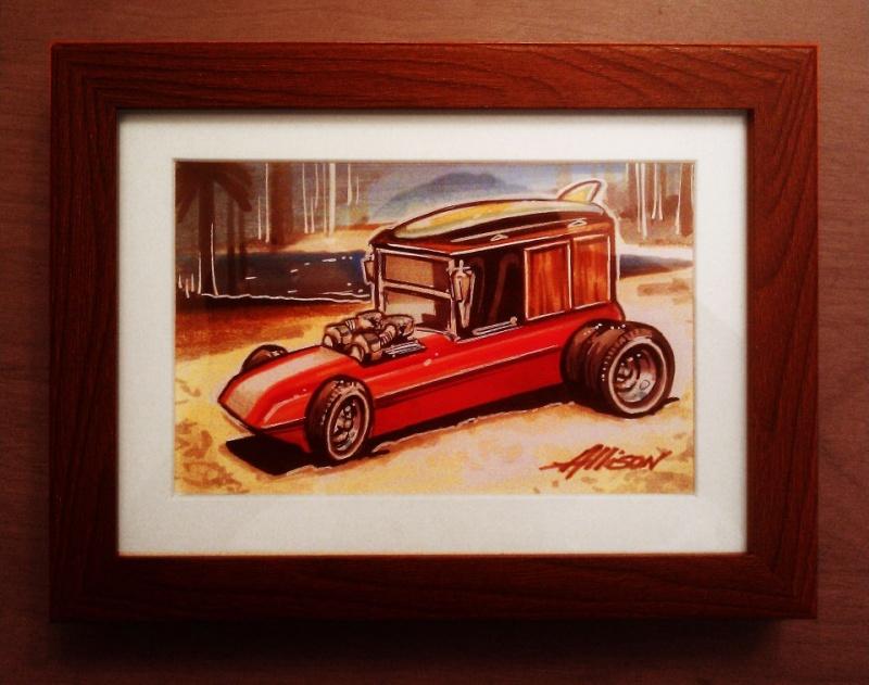 Jeff Allison - designer hot wheels and illustrations 13212_10