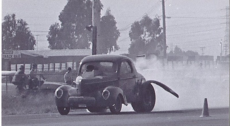 1950's & 1960's hot rod & dragster race 14558710