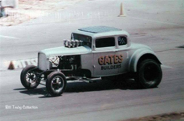 1950's & 1960's hot rod & dragster race 14566210