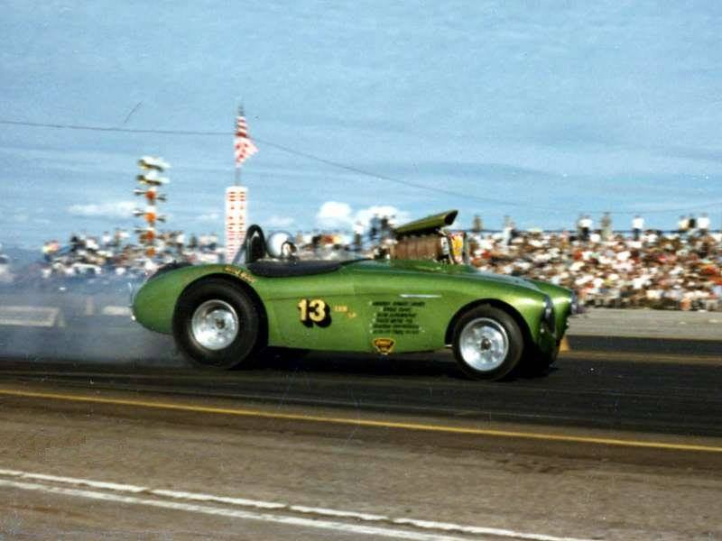 1950's & 1960's hot rod & dragster race 14586110
